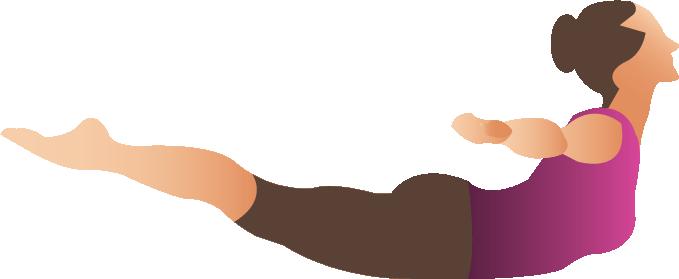 Yoga position Vector